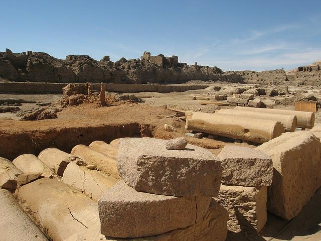 Temple of Madinet Habu