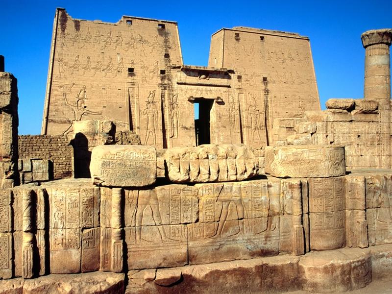 Templo de Edfu, Edfu