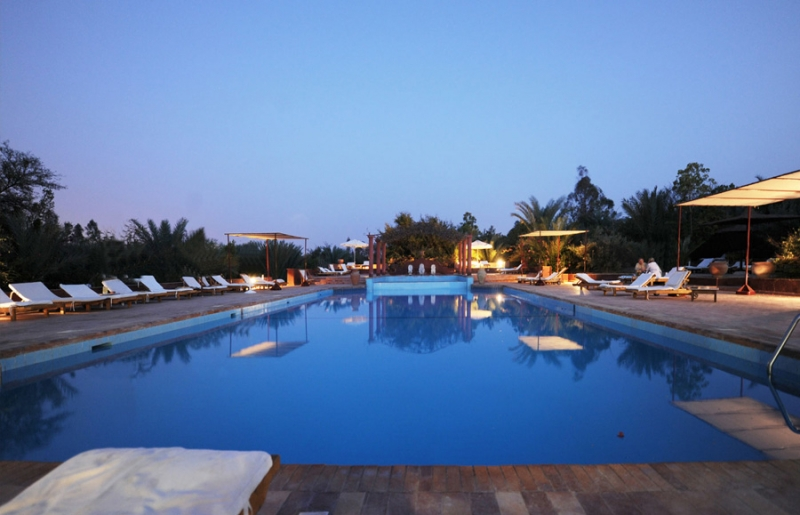 Hotel Al Moudira Luxor Swimming Pool