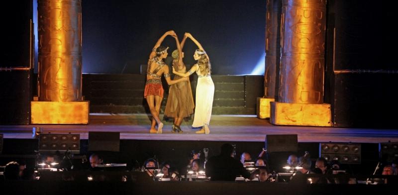 Verdi Aida Opera Show in Giza Pyramids Egypt