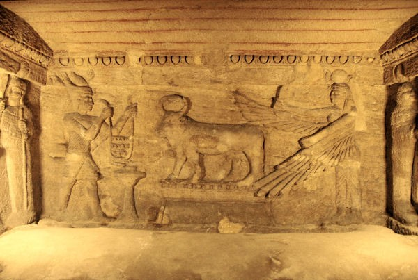 Catacombs of Kom EL Shokafa, ALexandria