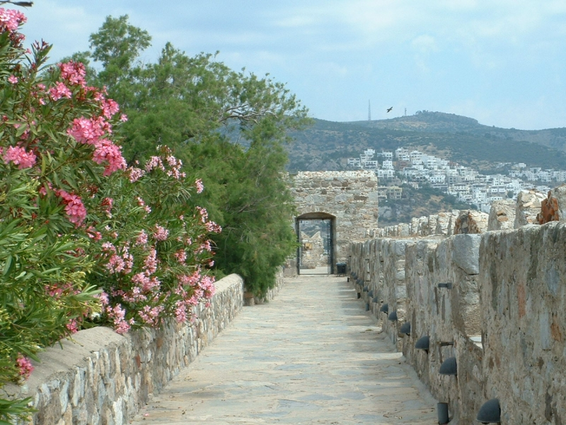 Inside St. Peter's Castle, Bodrum