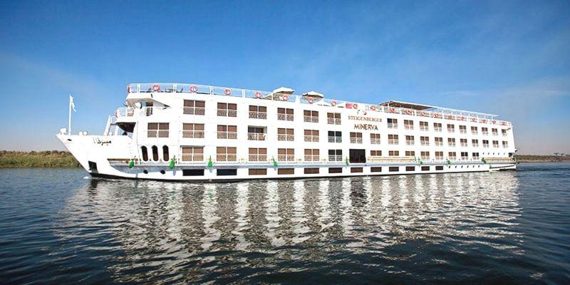 Crucero por El Nilo Aswan-Luxor  (Steignberger Minerva) 4 Días
