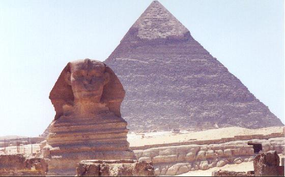 Las Pirámides y la Esfinge