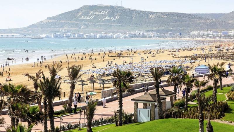 Relaxation at Agadir Beaches