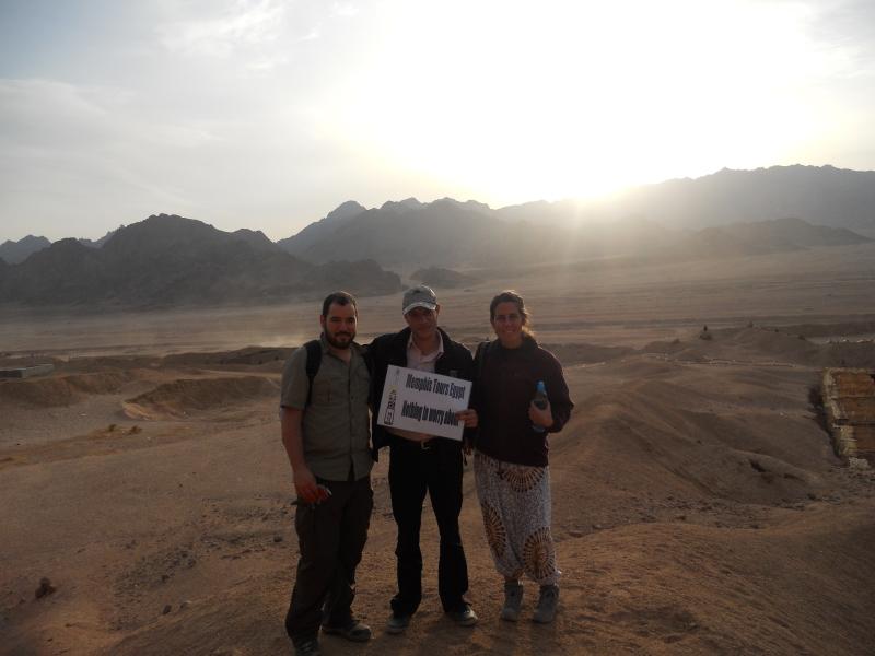 Erlebnisausflug bei den Beduinen in Sinai Wüste