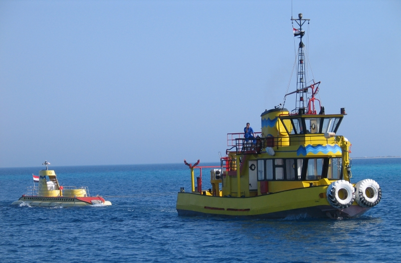 Sinbad Submarine from Hurghada