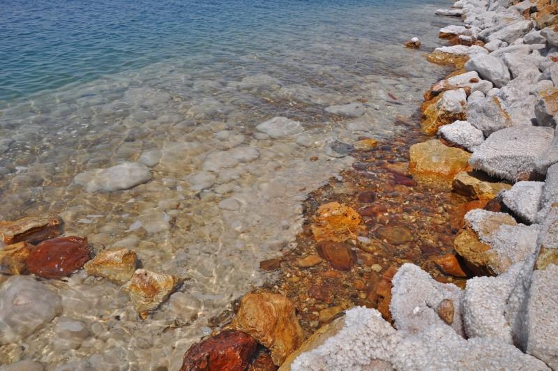 Dead Sea Salty Rocks