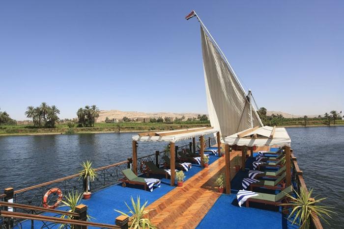 Nile Dahabiya Sundeck