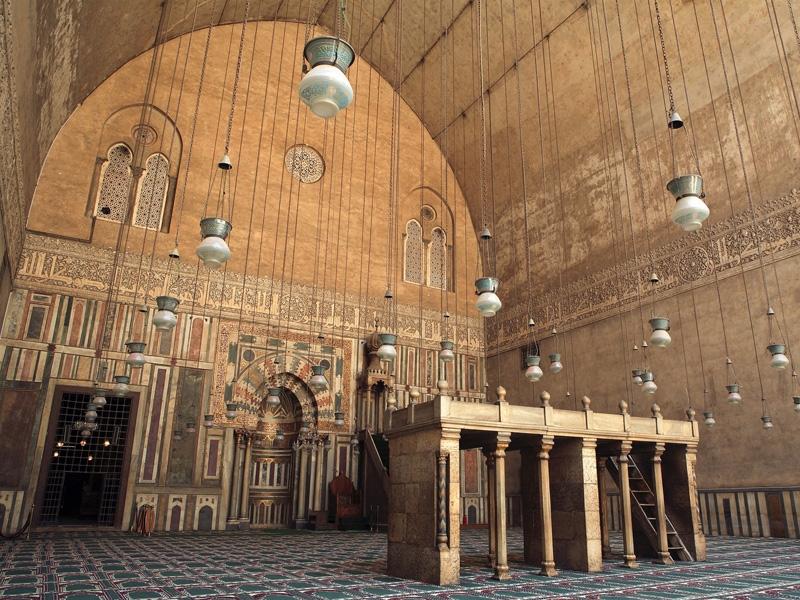 Mesquita do Sultão Hassan e Madrasa - Cairo islâmico