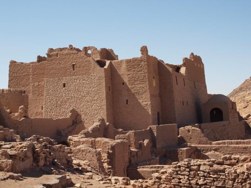 Ausflug zum St. Simeon-Kloster in Assuan