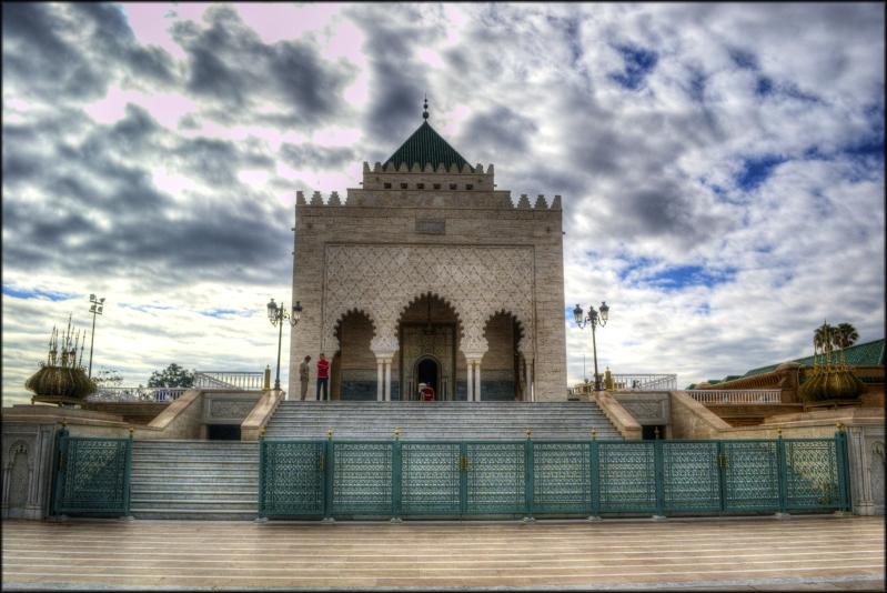 El Mausoleo de Mohammed V.