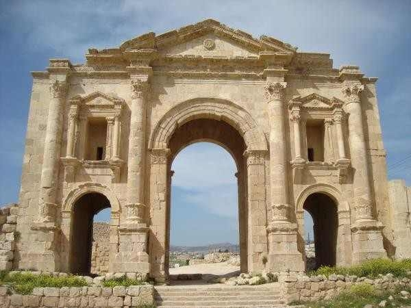 Porta de Jerash, Jordânia