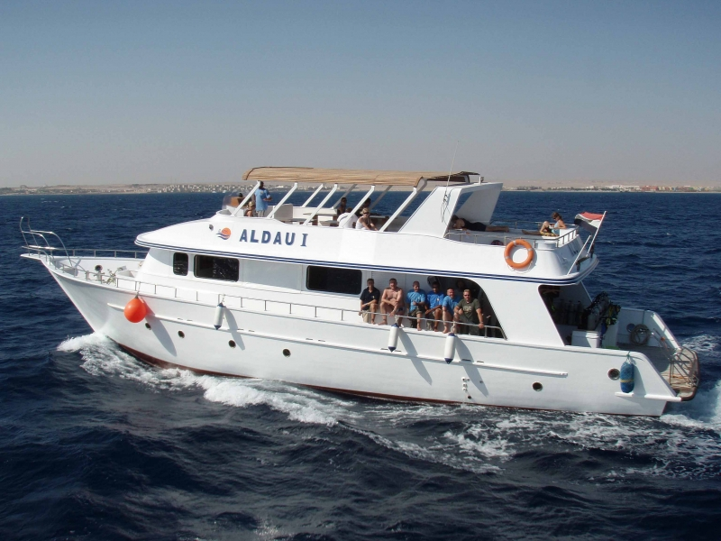 Hurghada Diving Boat, Red Sea