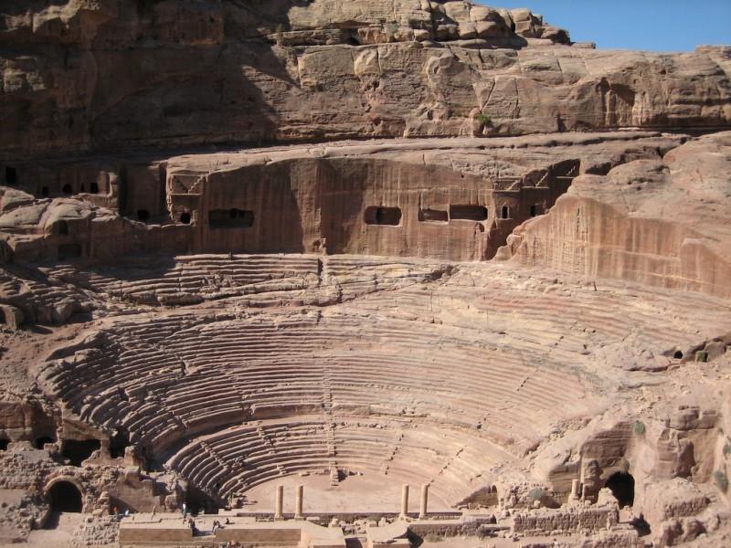 Théâtre Romain, Petra