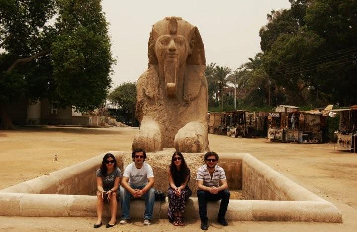 Sphinx Statue at Memphis