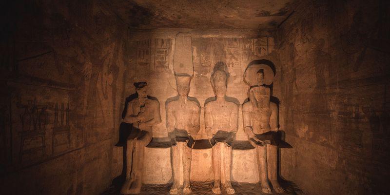 Los Templos de Abu Simbel en Egipto