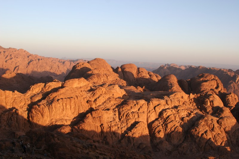 Moses Mountain in Sinai, Egypt