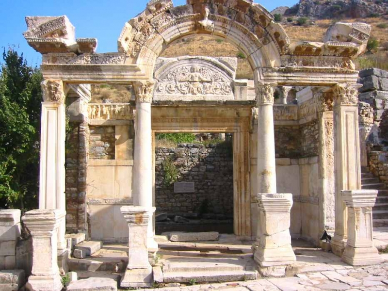 Cité antique d'Éphès en Cappadoce