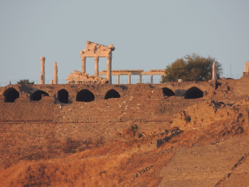 The ancient city of Pergamum