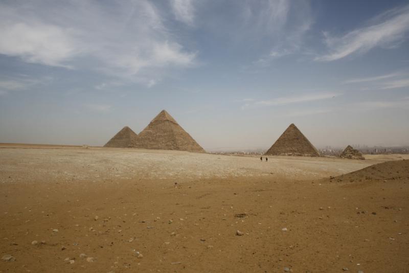 Panorama of Egypt Pyramids