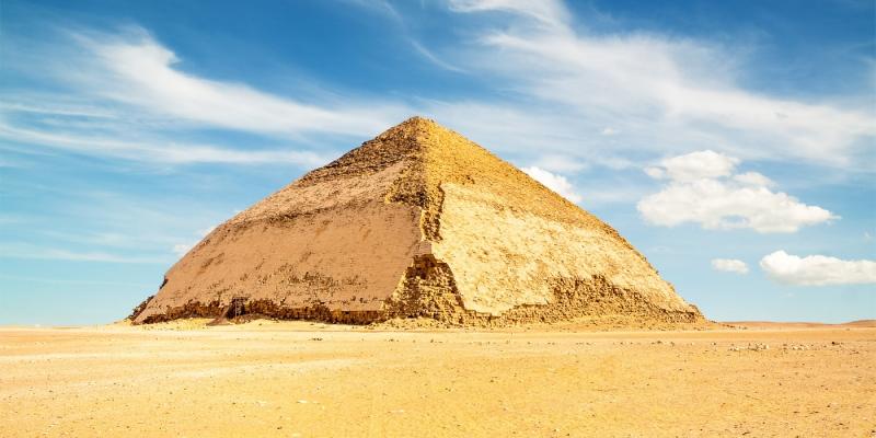 As Pirâmides de Dahshur