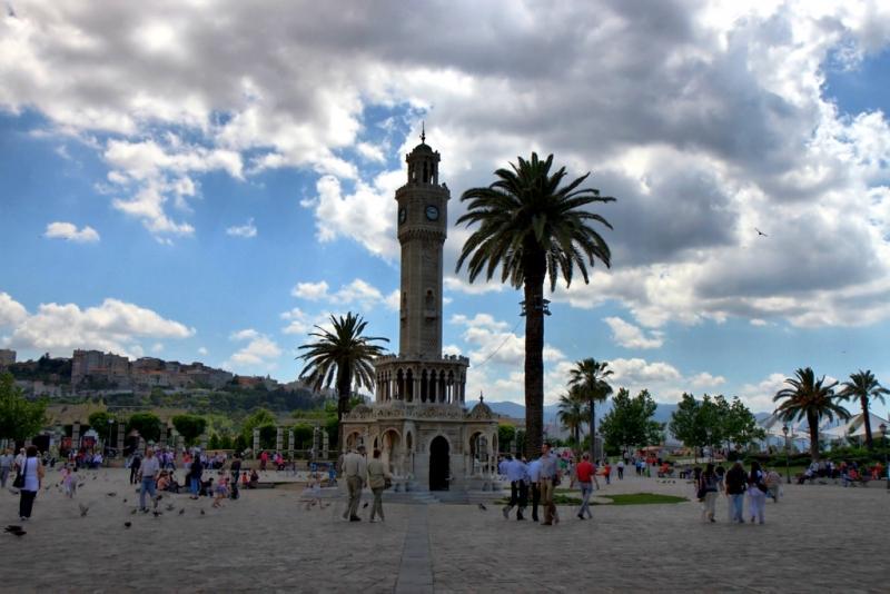 La torre del reloj oriental