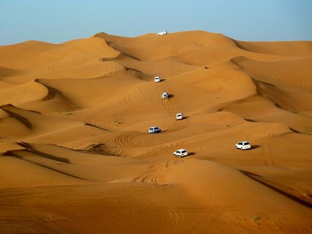 Safari no deserto,  Dubai