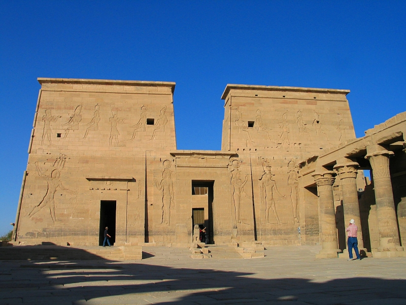 Inside The Philae Temple