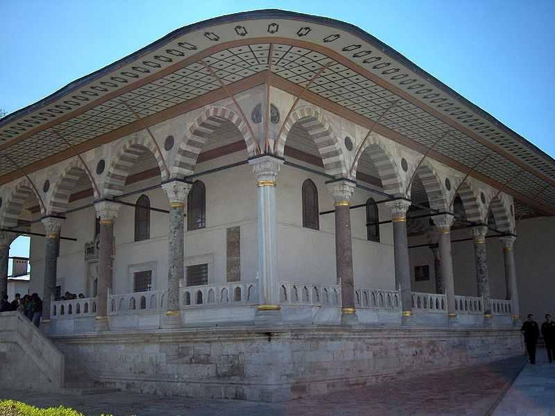 La salle d'audience, Palais de Topkapi