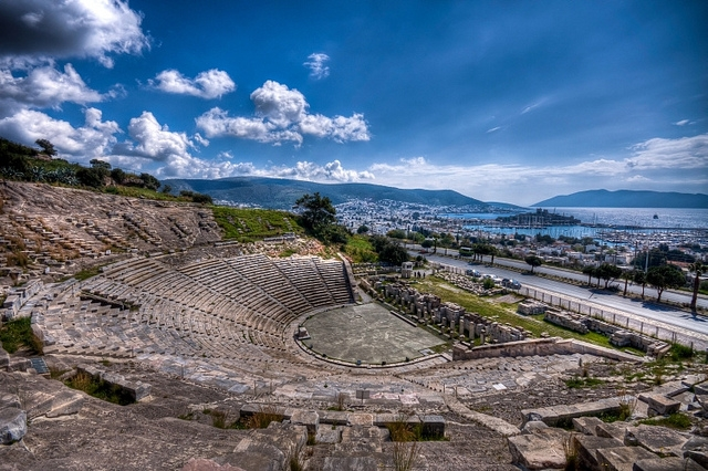 Ancient Theater of Halicarnassos, Bodrum