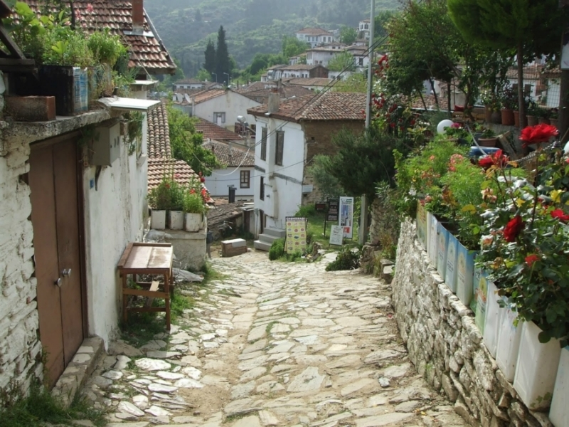 Sirince Village Streets, Turkey