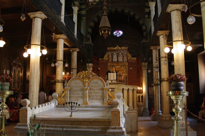 Ben-Ezra Synagogue in Cairo