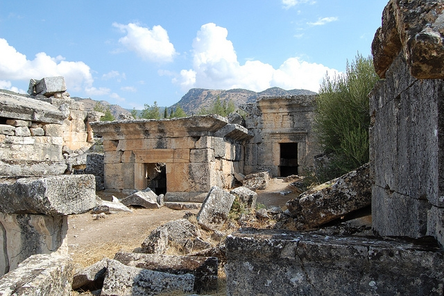 The Ancient City of Hierapolis in Pamukkale