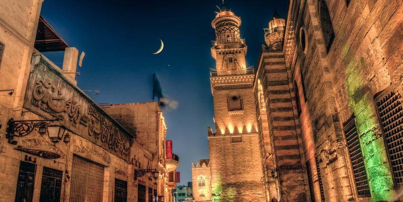 A Rua de Al-Muizz Li-Deen Allah ( Cairo Velho )
