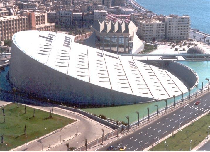 A Biblioteca de Alexandria