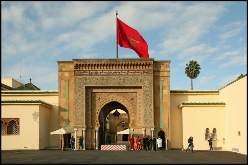 O Palácio Real, Rabat