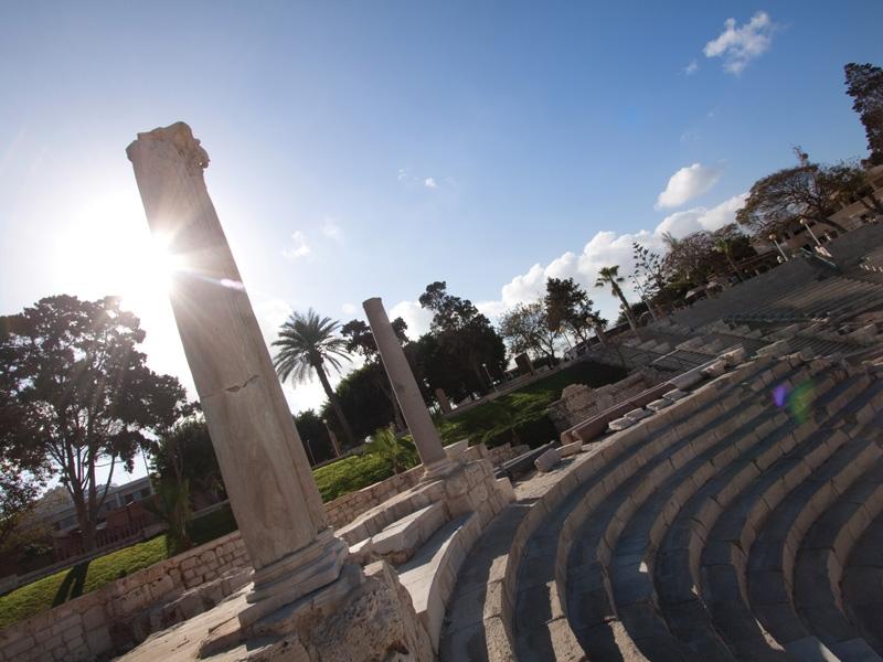 The Roman Theatre in Alex