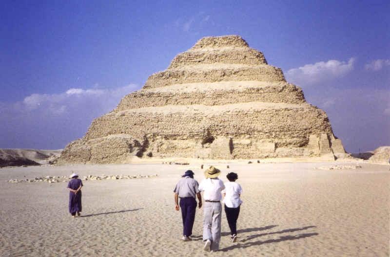 Pirâmide de degraus, Sakkara