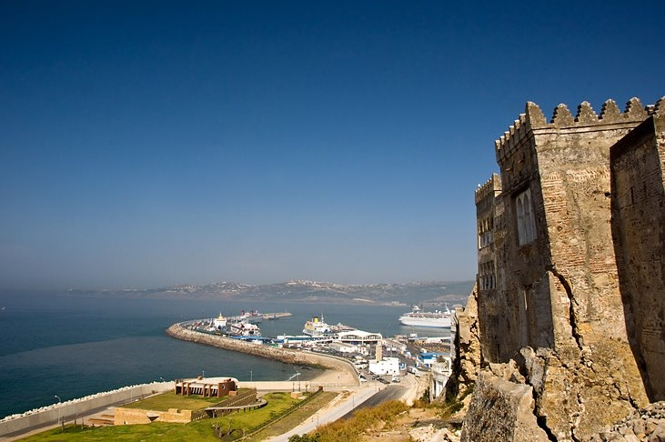 Vue depuis la Kasbah de Tanger