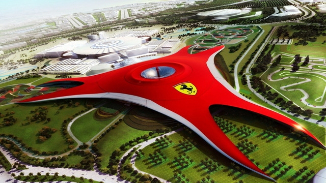 Ferrari World, Isola di Yas