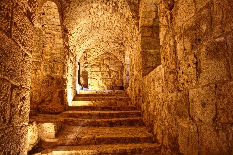 Castillo Islámico de Ajlun, Jordania