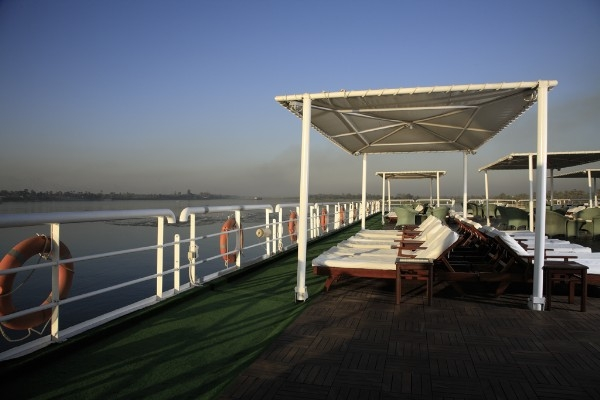 MS Hamees Nile Cruise Sundeck