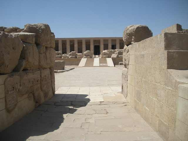 Facade of Abydos Temple