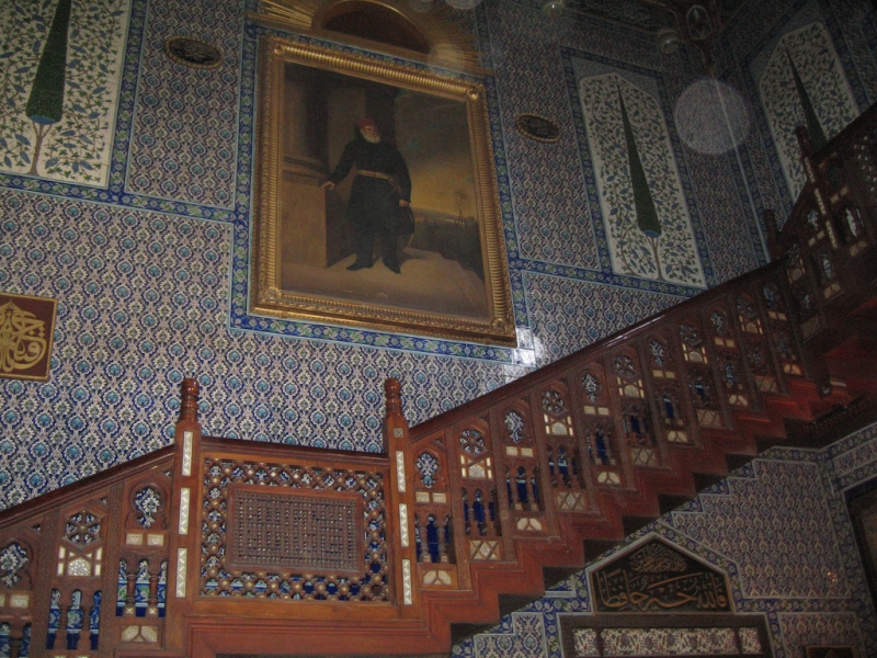 Inside the Manial Palace, Cairo