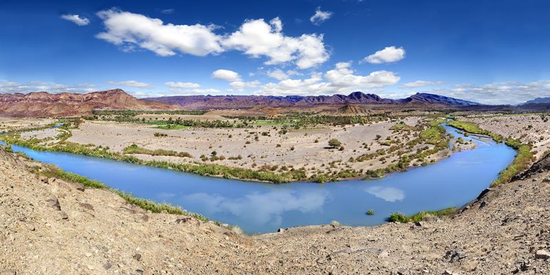 Vale do Draa no Marrocos