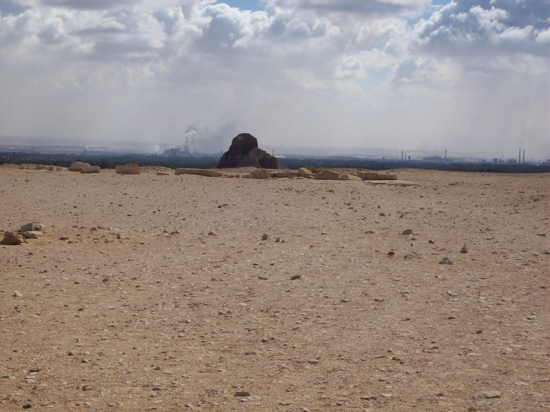 The Black Pyramid Near Dahshure