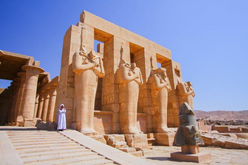 Ramesseum - Templo Funerário de Ramsés II
