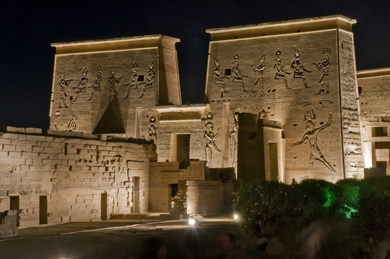 フィラエ神殿の音と光のショー