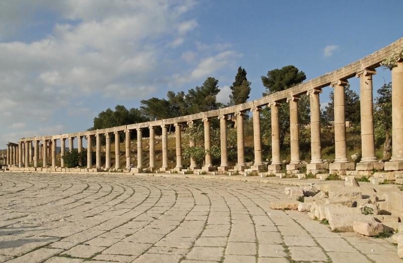 La Piazza Ovale di Jerash